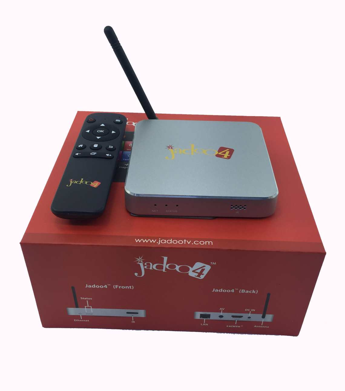 Home / INTERNET TV BOXES / IPTV Boxes / JADOO 4 ANDROID SOUTH ASIAN ...